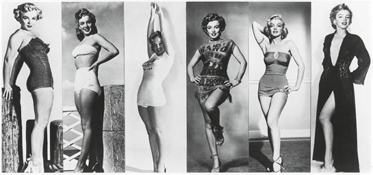 Marilyn Monroe in 6 publicity
