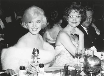 Marilyn Monroe at the Golden G
