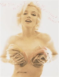 Marilyn Monroe, from The Last
