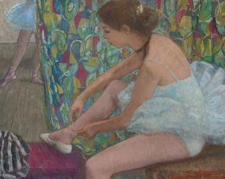 Marie-Lize au tutu blanc, atta