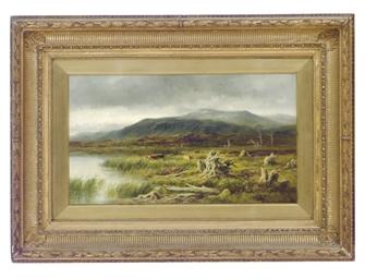 A Moorland Tarn, Glenfeshie, I