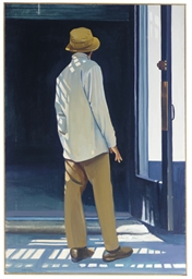 Man standing in a doorway