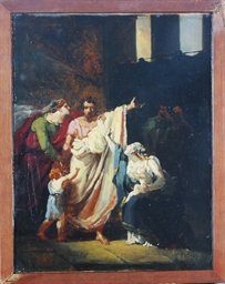 Scene from the Life of Coriola