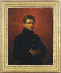 Portrait of a young soldier