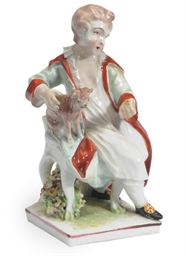 AN ENGLISH PORCELAIN FIGURE GR