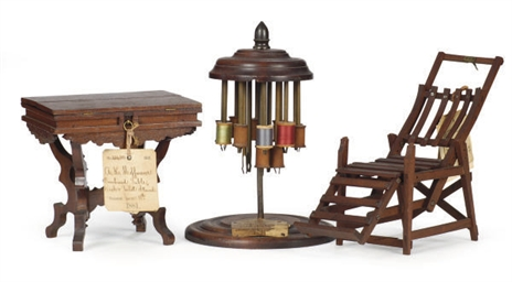 SIX PATENT MODELS OF HOME FURN