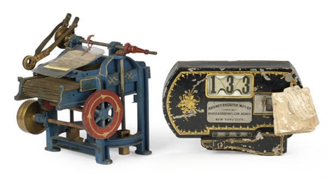 A PATENT MODEL OF A COTTON PRE