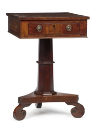 A LOUIS PHILIPPE MAHOGANY, ROS
