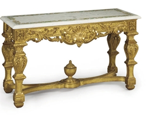 A CONTINENTAL GILTWOOD AND SCA