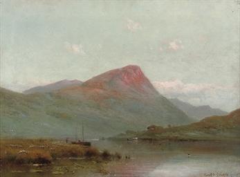Evening Llyn Gwynant, Snowdoni