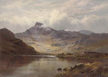 Snowdon from Llyn Lydon