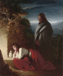 Mary Magdalen at the Sepulchre