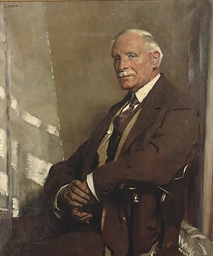 Portrait of Thomas Glass, seat