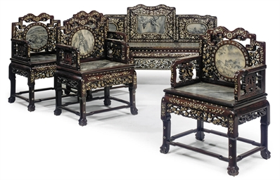 A SUITE OF CHINESE FURNITURE