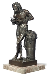 A FRENCH BRONZE FIGURE OF L'IM