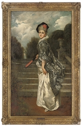 Portrait of an elegant lady, f