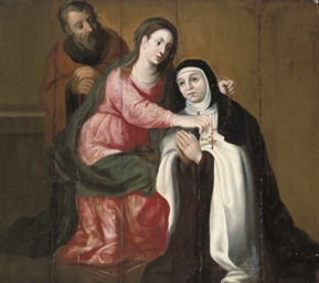 The Vision of Saint Teresa of