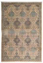 A PAIR OF FINE NAIN CARPETS, C