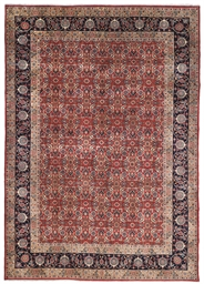 A PAIR OF FINE YEZD CARPETS, S