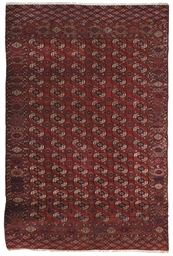 A TEKKE BOKHARA CARPET, EAST T