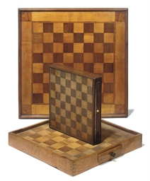 A GROUP OF THREE CHEQUER GAMES