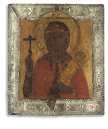 A FEMALE MARTYR, POSSIBLY SAIN