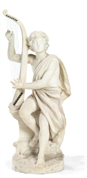A CONTINENTAL STATUARY WHITE M