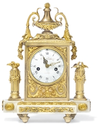 A LOUIS XVI ORMOLU AND MARBLE