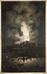 View of the last eruption of M