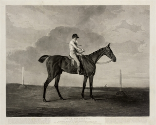 Dick Andrews, ridden by Richar