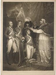 Pope Pius VI. receiving the Of
