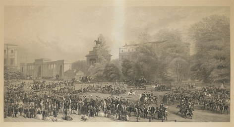 Rotten Row, Hyde Park 1864