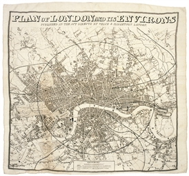 PLAN OF LONDON AND ITS ENVIRON