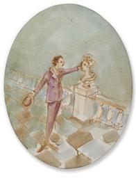 Ludwig II Caresses Marie Antoi