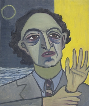 Meyer Schapiro  portrait by Alice Neel