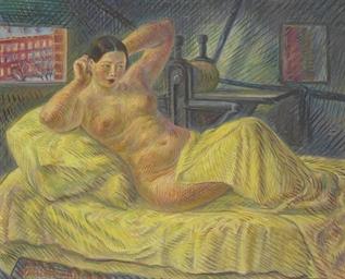 Nude in Washington Square