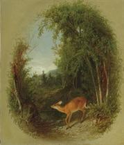 Deer in a Landscape