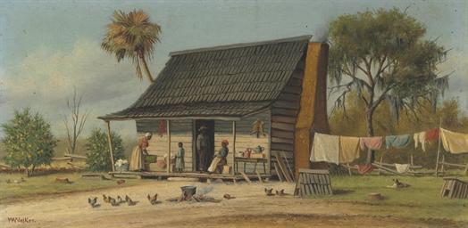 A Cabin Scene