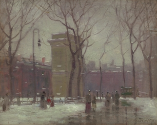 Winter, Washington Square