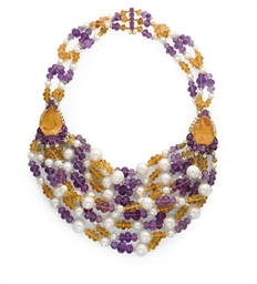 COLLIER PERLES DE CULTURE, AME