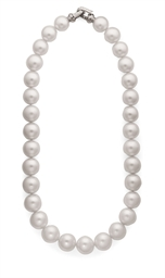 COLLIER PERLES DE CULTURE ET D