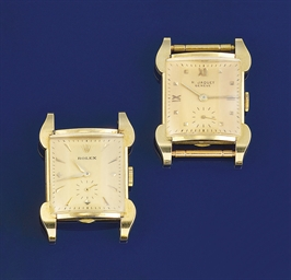 A gentleman's wristwatch, by R