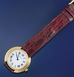 A wristwatch, by Cartier