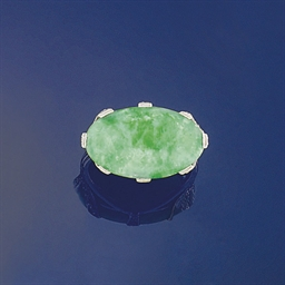 An early 20th century jadeite