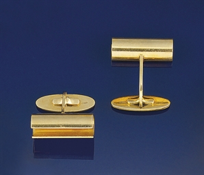 A pair of 18ct. gold cufflinks