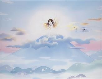 THE SUN GODDESS AMATERASU AND