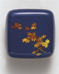 A Small Cloisonné Enamel Box a