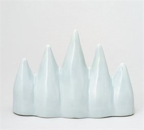 A White Porcelain Brush Rest