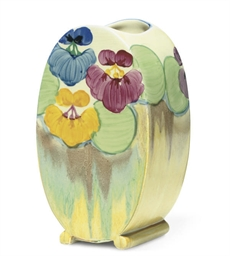 A CLARICE CLIFF 'PANSY' BONJOU