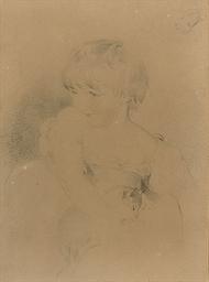 Portrait study of Charles Edwa